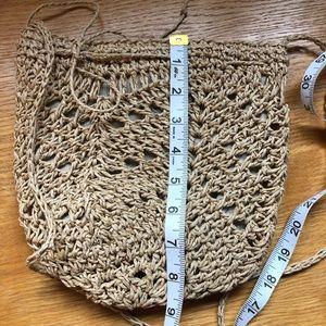 J. Jill Bags - Small J Jill crossbody straw bag